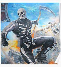 Skull Trooper Sythe Poster