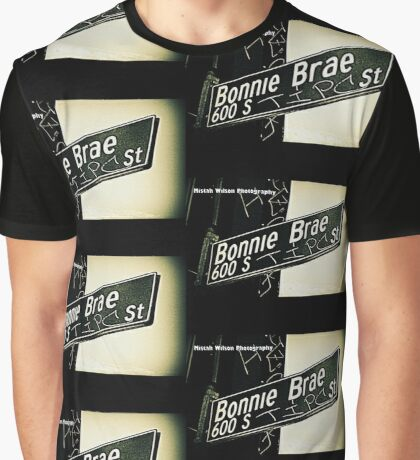 South Bonnie Brae Street Los Angeles California by Mistah Wilson Photography Graphic T-Shirt