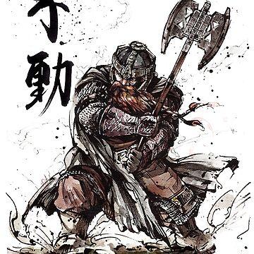 Dwarf Warrior by markdanshin