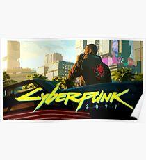 Cyberpunk 2077 Skyline Poster