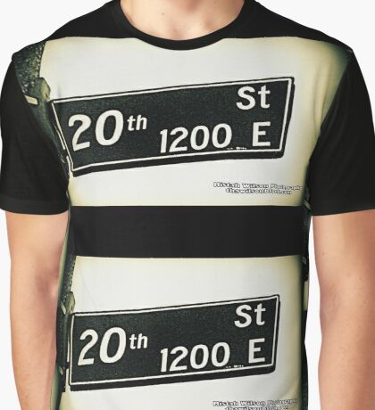East 20th Street1 Los Angeles California by Mistah Wilson Photography Graphic T-Shirt