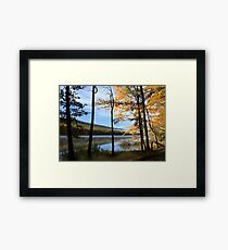 CLARKS CREEK SUNRISE 2 Framed Print