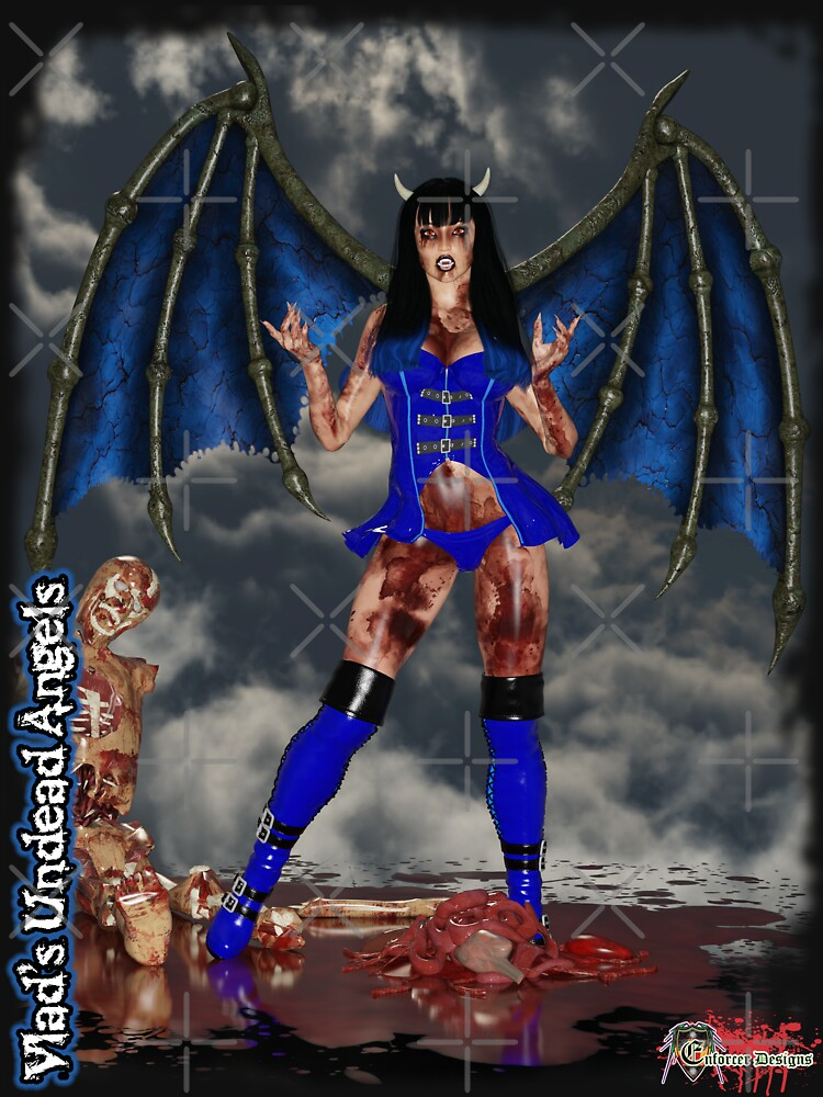 Undead Angels: Succubus with Victim by EnforcerDesigns