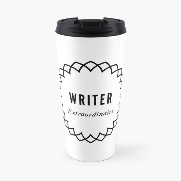 I am a writer. Your words are important. Travel Mug