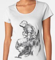 iron giant hero Women's Premium T-Shirt