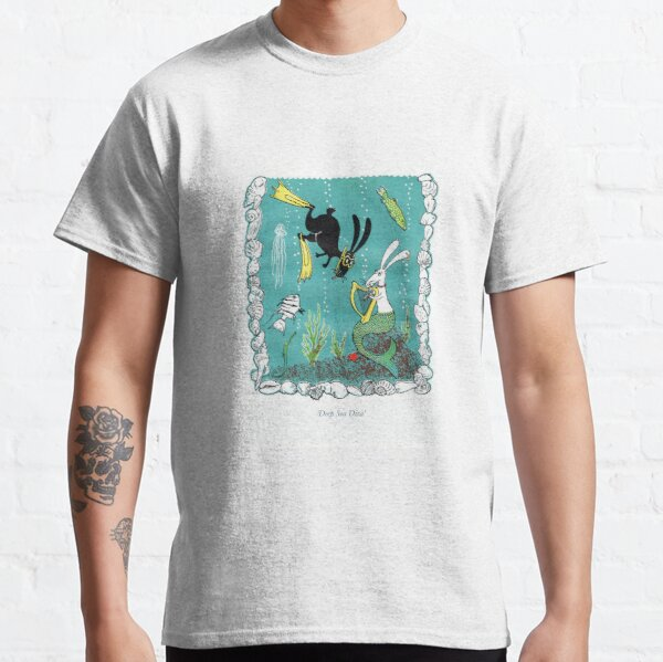Postcards for the Reef 7: Deep Sea Diva Classic T-Shirt