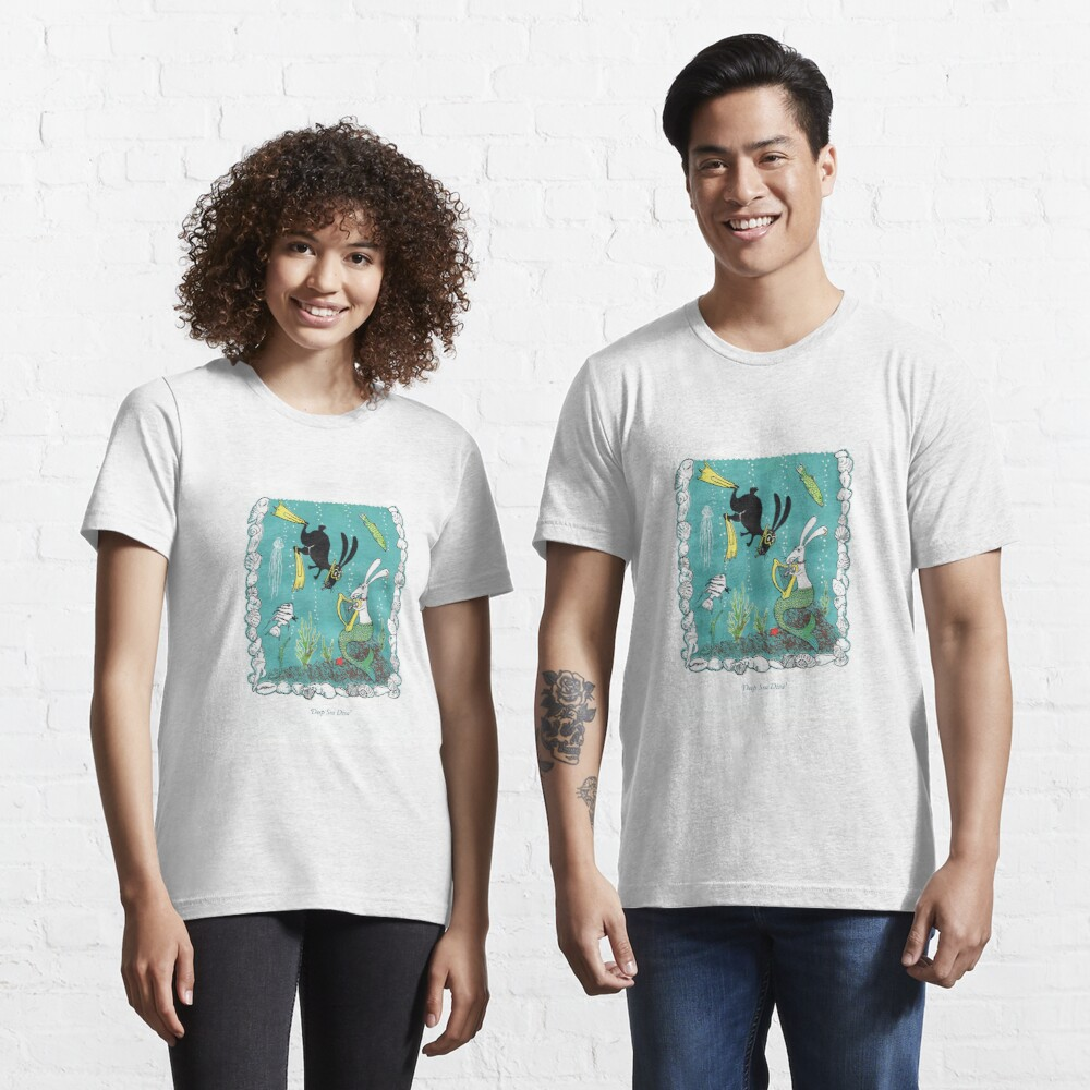 Postcards for the Reef 7: Deep Sea Diva Essential T-Shirt