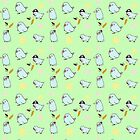 White Parrotlets Pattern by parrotletOvO