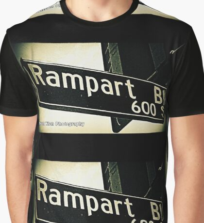 South Rampart Boulevard1 Los Angeles California by Mistah Wilson Photography Graphic T-Shirt