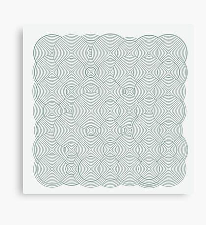 Raindrops 100 Canvas Print