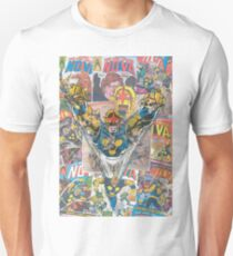 Vintage Comic Nova Unisex T-Shirt
