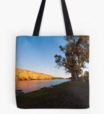 Swan Reach Cliffs Tote Bag