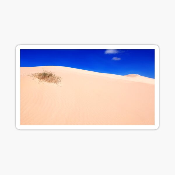 Sand Dunes of Mungo NP Sticker
