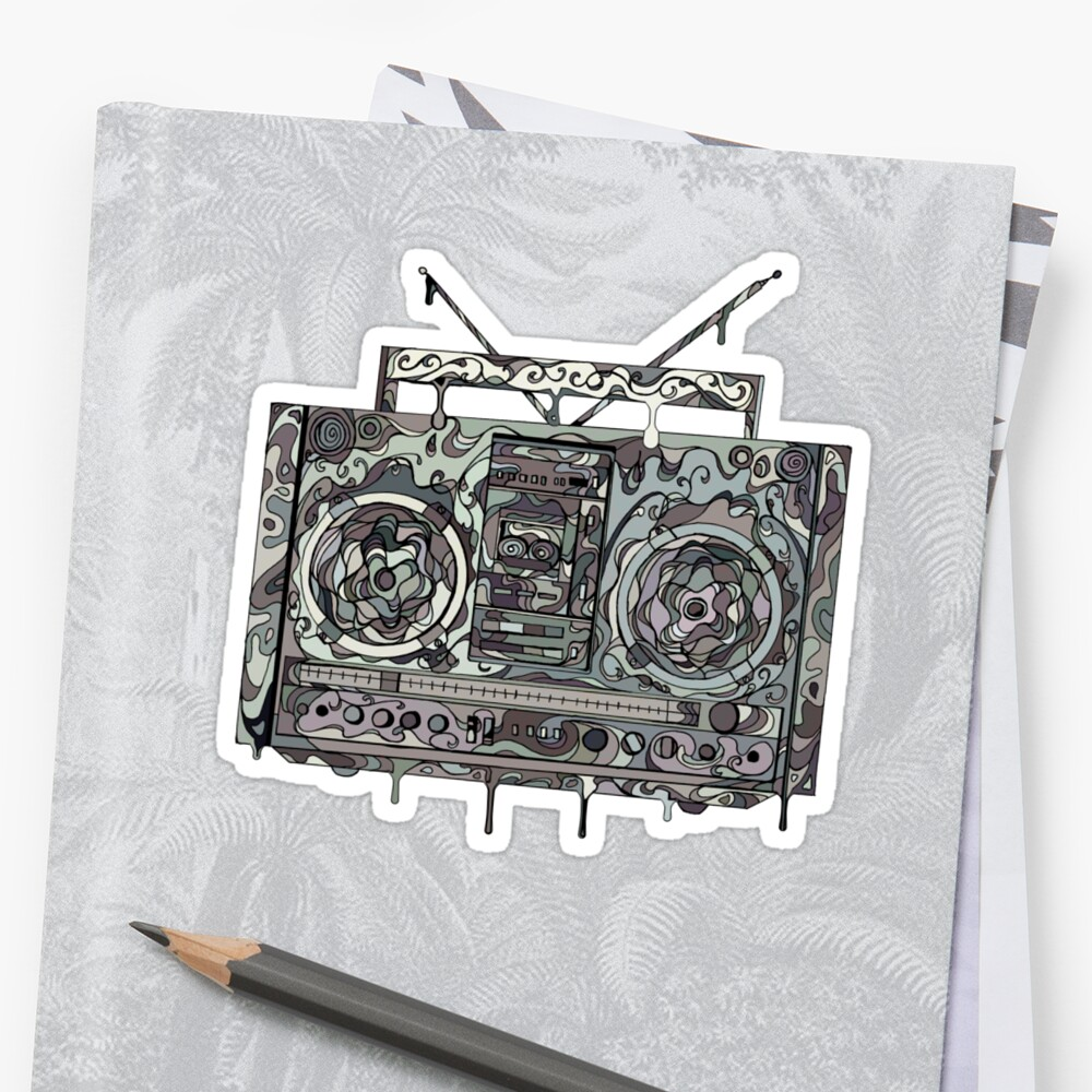 Boom Box Gray by Octavio Velazquez