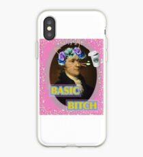 Hamilton Basic Bitch edit iPhone Case