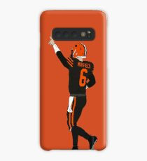 Baker Mayfield's First Win Case/Skin for Samsung Galaxy