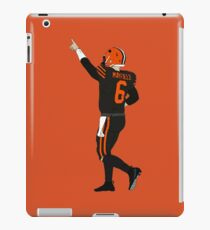 Baker Mayfields erster Sieg iPad-Hülle & Klebefolie