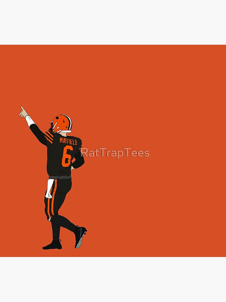 Baker Mayfield's First Win by RatTrapTees