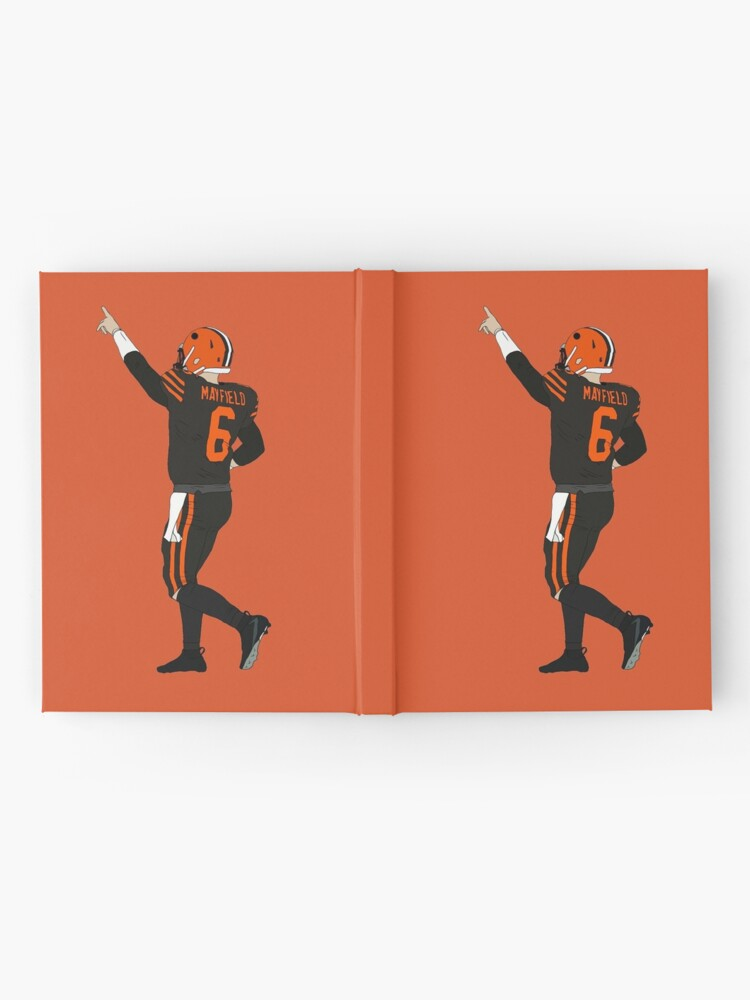 Alternate view of Baker Mayfield's First Win Hardcover Journal