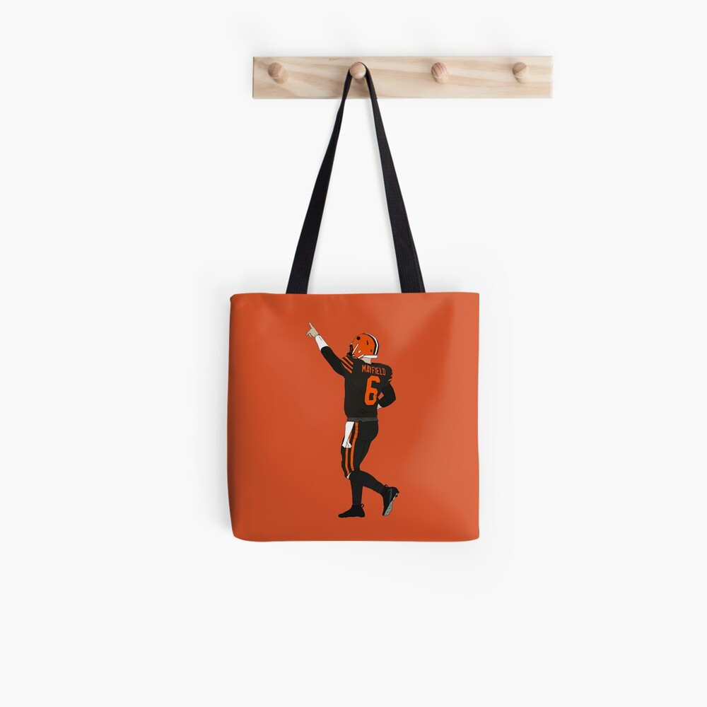 Baker Mayfield's First Win Tote Bag
