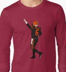 Baker Mayfield's First Win Long Sleeve T-Shirt