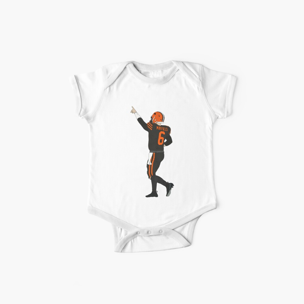 Baker Mayfield's First Win Baby One-Pieces