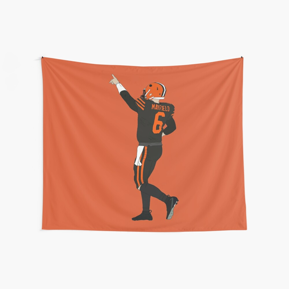 Baker Mayfield's First Win Wall Tapestry