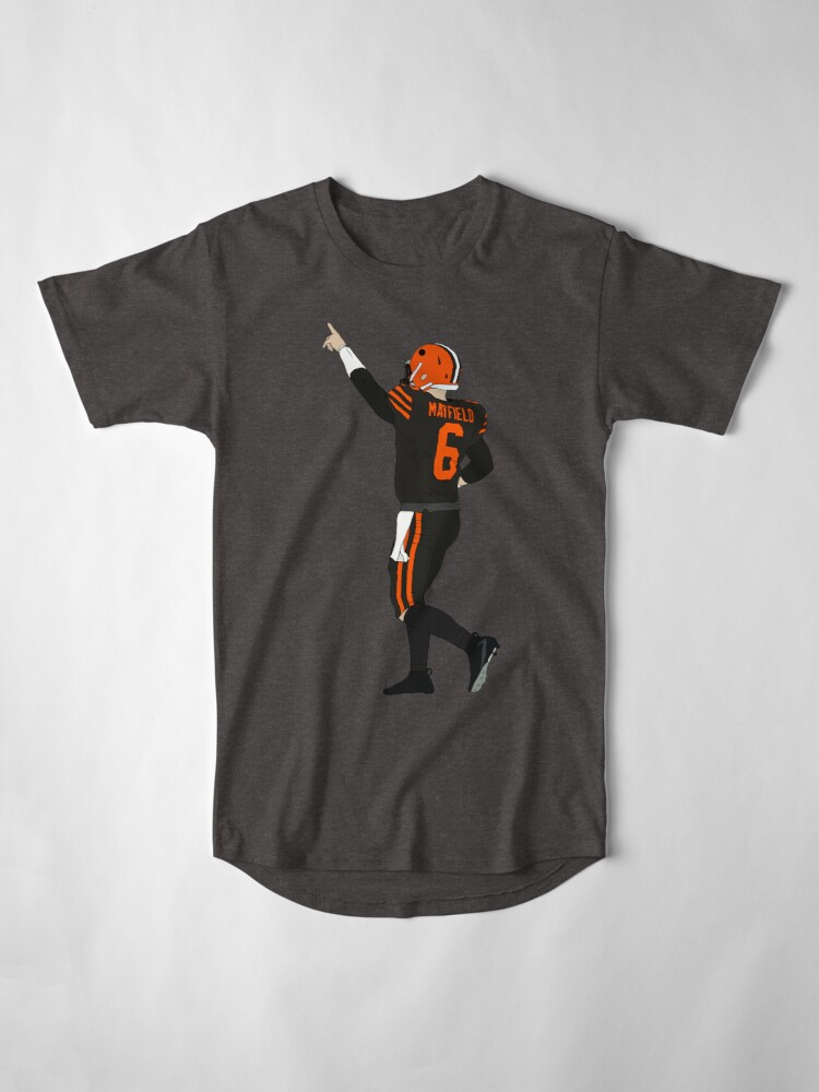 Alternate view of Baker Mayfield's First Win Long T-Shirt