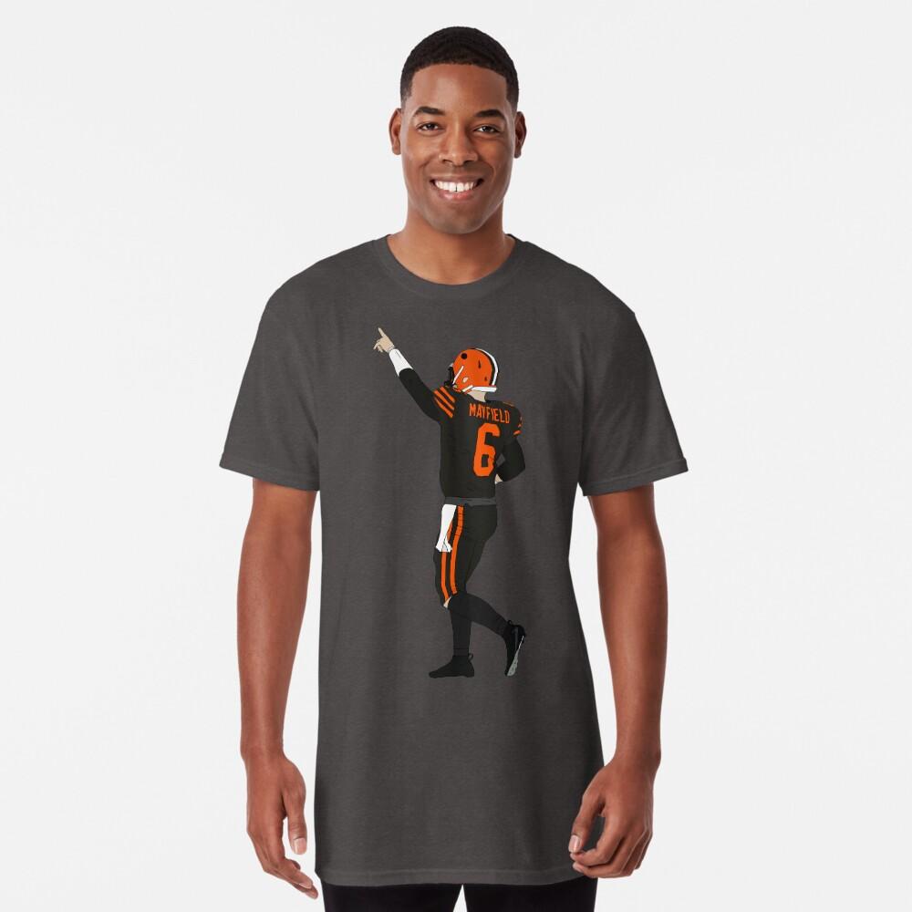 Baker Mayfield's First Win Long T-Shirt