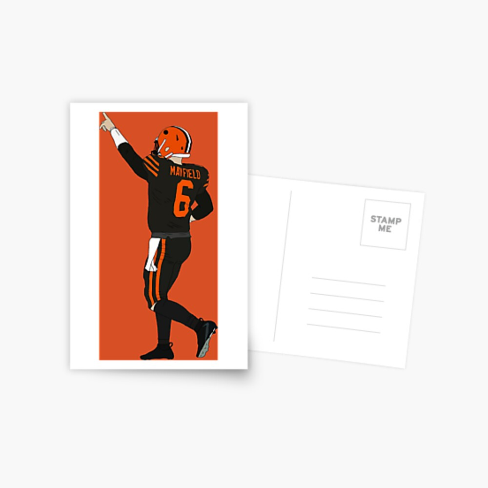 Baker Mayfield's First Win Postcard