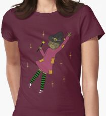 Windsey the Witch Women's Fitted T-Shirt