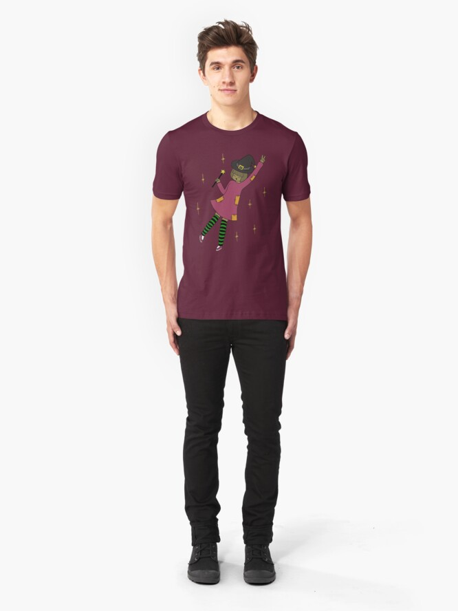Alternate view of Windsey the Witch Slim Fit T-Shirt
