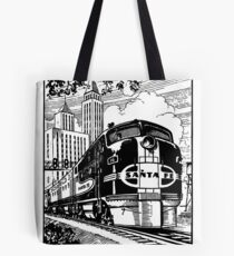 Train I Tote Bag