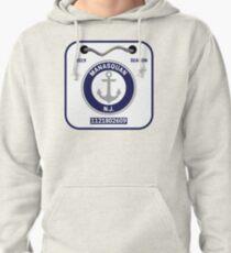 Manasquan Beach Badge Pullover Hoodie