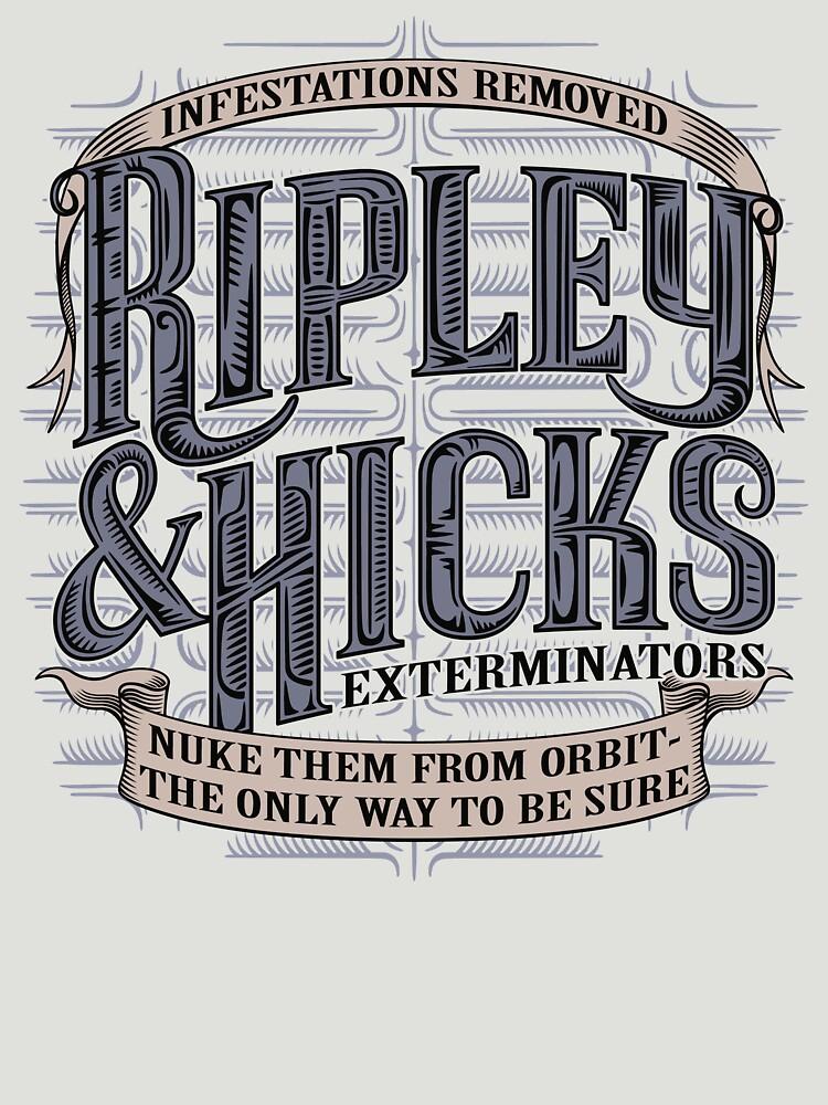 TShirtGifter presents: Ripley & Hicks Exterminators | Unisex T-Shirt