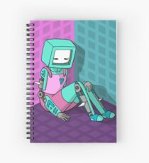 Robo Girl Spiral Notebook