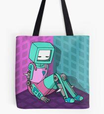 Robo Girl Tote Bag