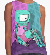 Robo Girl Contrast Tank