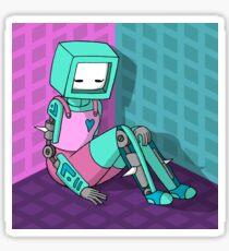 Robo Girl Sticker
