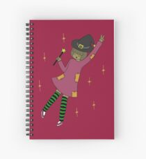 Windsey the Witch Spiral Notebook