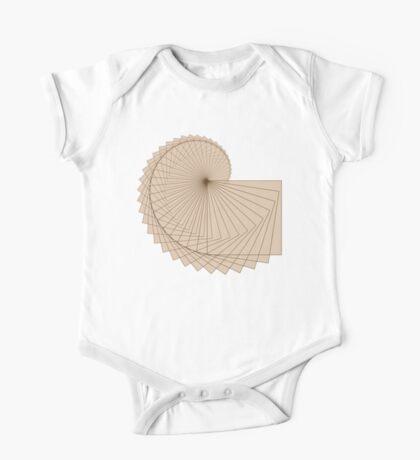 Geometric Spiral 001 Kids Clothes