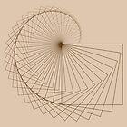 Geometric Spiral 001 by Rupert Russell