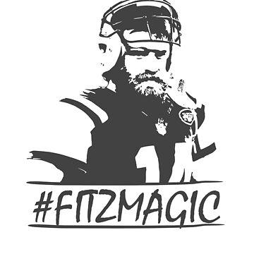 Fitzmagic Design Fans Gift by kirillpanteleev