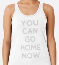 Camiseta con espalda nadadora Puedes irte a casa