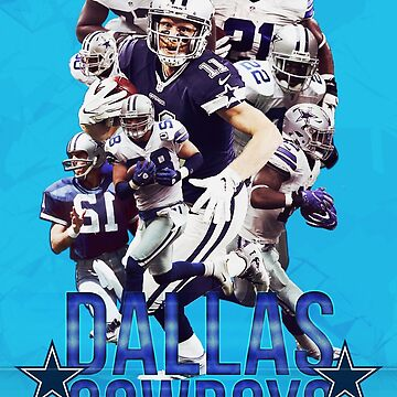 Dallas Cowboys poster by NIKOisCREATING