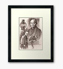 Jigoro Kano Framed Print