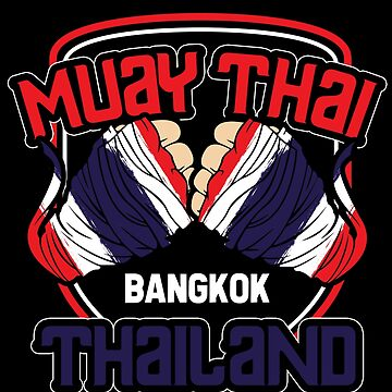 Thai boxing by GeschenkIdee