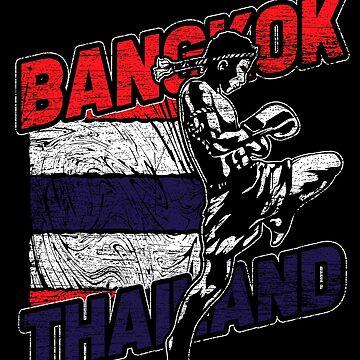 Thailand Thai boxing by GeschenkIdee