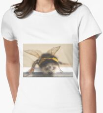 Bumble Bee 3 Womens Fitted T-Shirt