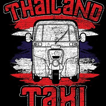 Thailand taxi by GeschenkIdee